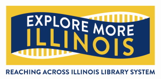 Explore More Illinois Logo - Link to Explore More Illinois website.