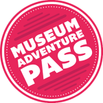 Museum Adventure Pass Logo - Link to the Museum Adventure Pass website.